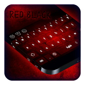 Red Black Keyboard