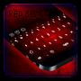 Red Black Keyboard