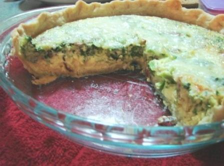 Remove from oven to let it settle for a few minutes before cutting.   Serve...