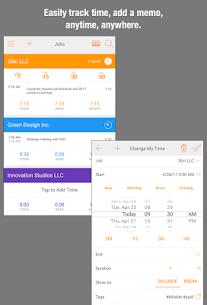 Easy Hours Timesheet Timecard 9.4.2 APK Mod Latest Version 2