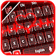Live 3D Neon Red Heart Keyboard Theme Download for PC Windows 10/8/7