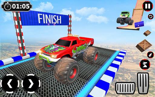 Ramp Monster Truck Stunts:New Racing Games 1.11 screenshots 5