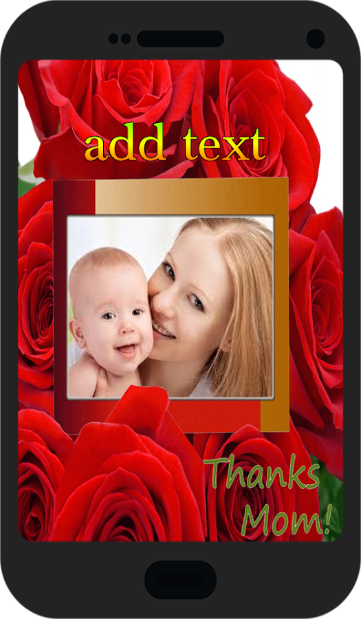 happy mothers day frame 2017 screenshot - Mothers Day Picture Frame