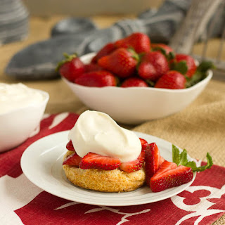 Strawberry Shortcake with White Chocolate Whipped Cream…#ChocolateParty