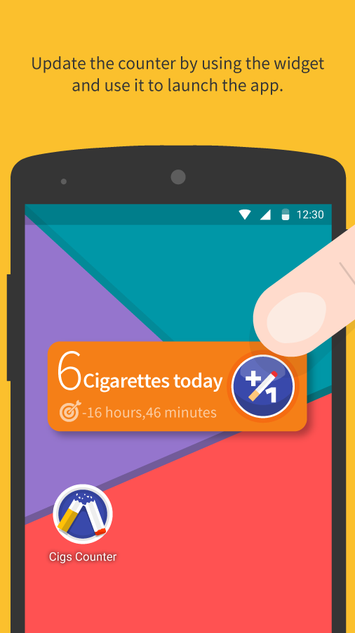 Cigs Counter - Quit Smoking- screenshot