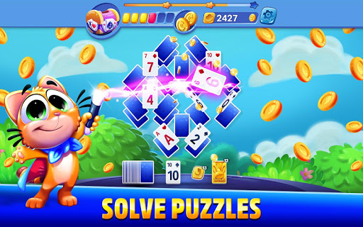 Solitaire Showtime: Tri Peaks Solitaire Free & Fun apkmr screenshots 5