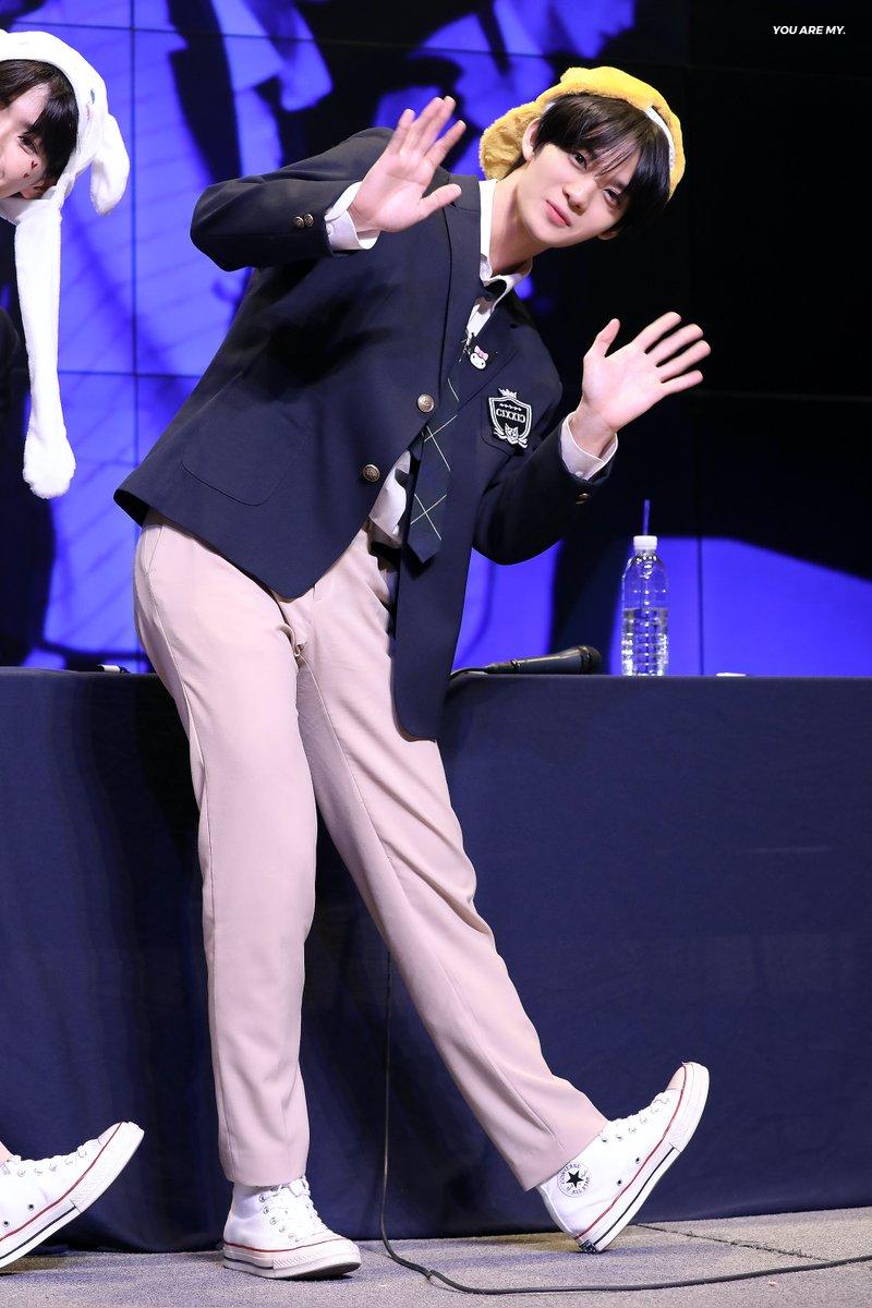 bae jinyoung uniform