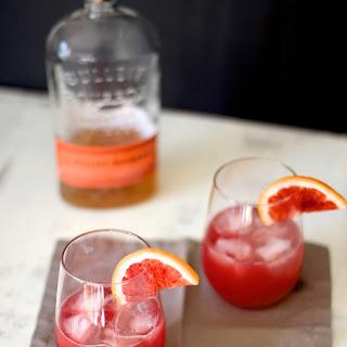Blood Orange Bourbon Sour