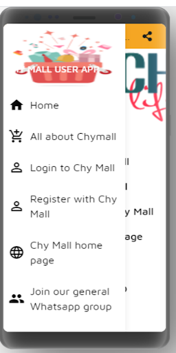 Chy mall user App
