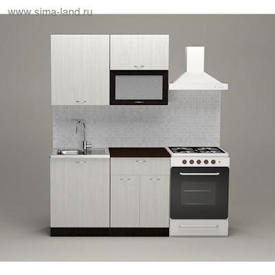 Кухонный гарнитур Полина лайт, 1200 мм