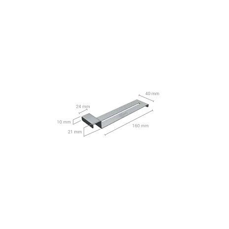 PK-Clip övre för sockel