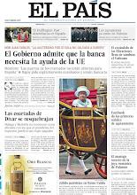 Photo: El Gobierno admite que la banca necesita la ayuda de la UE, el escándalo de las filtraciones llena de sombras el Vaticano, el Huffinton Post desembarca en España, y las coartadas de Dívar se resquebrajan, entre los temas de nuestra portada de este miércoles, 6 de junio de 2012 http://srv00.epimg.net/pdf/elpais/1aPagina/2012/06/ep-20120606.pdf