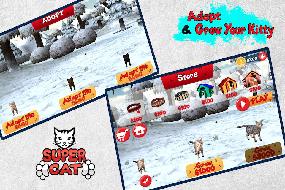 Super Cat 3D- screenshot