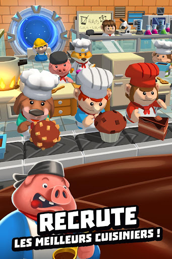 Code Triche Idle Cooking Tycoon - Tap Chef APK MOD screenshots 5