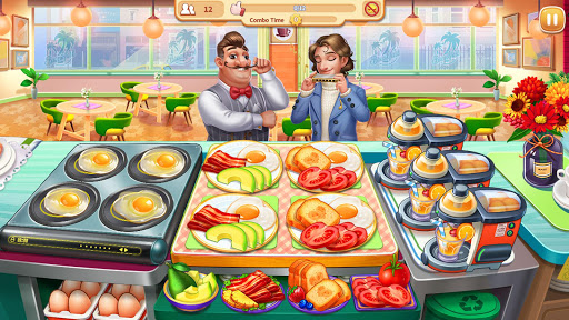 My Restaurant: Crazy Cooking Madness Game apkmr screenshots 4