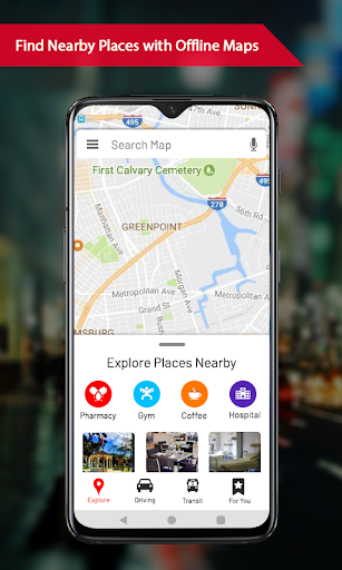 Offline maps with Street View : GPS Route Tracker 1.0.15 screenshots 1