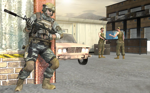Frontline FPS Battlegrounds Epic Fire War  captures d'écran 2