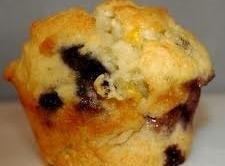 Lowfat Blueberry Peach Muffin Recipe