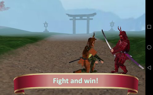 The Battle of the Samurai - náhled