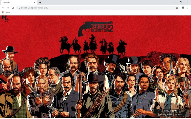 Red Dead Redemption 2 New Tab