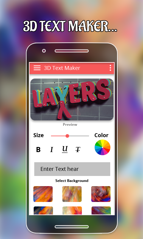 3d Text Maker Android Apps On Google Play