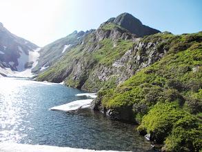 Photo: Col de Barlonguère , Etg Long , Crête de Barrecul et Tuc des Hèches au fond à Droite
