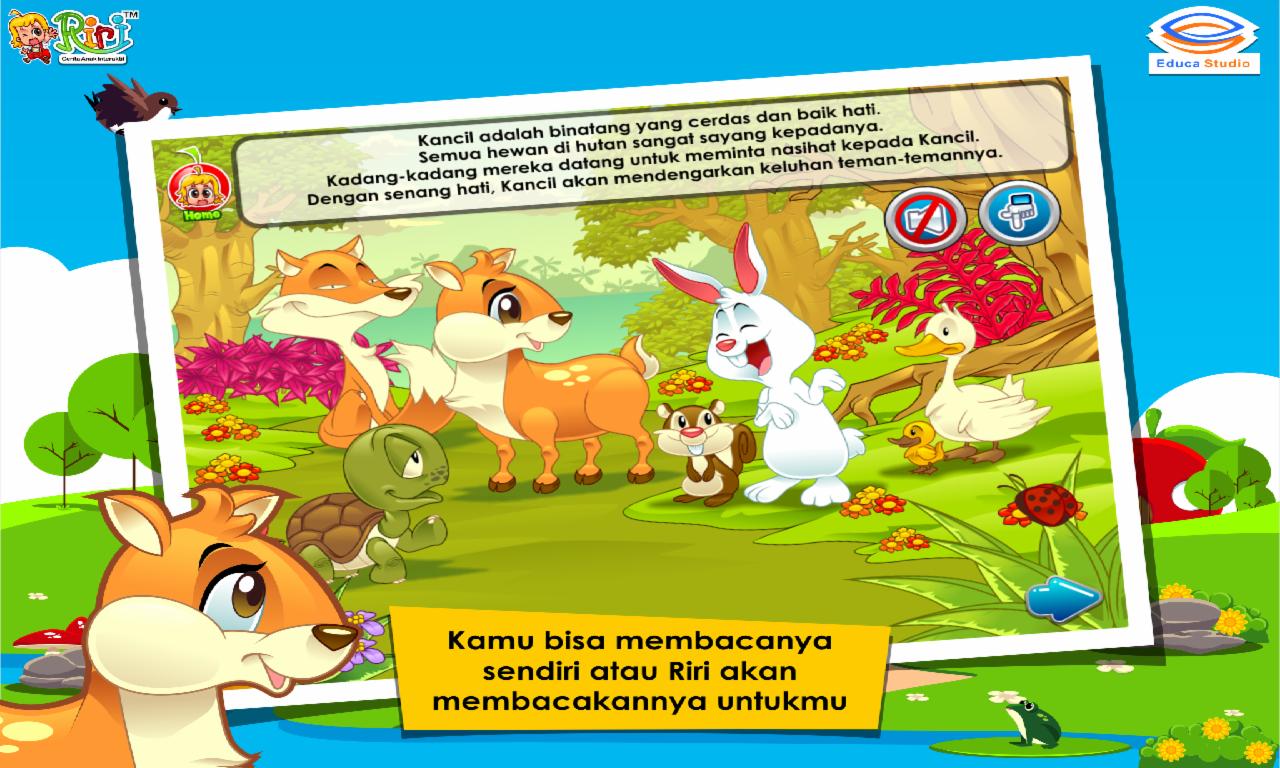 Cerita Anak Kancil Dan Buaya Android Apps On Google Play