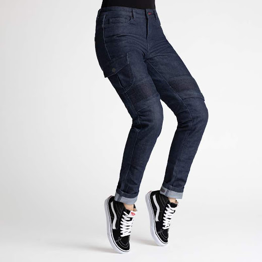 Broger Ohio Jeans Dame (raw navy)