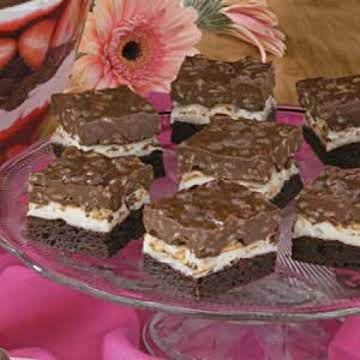 Brownie Mallow Bars Recipe