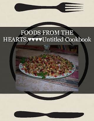FOODS FROM THE HEARTS.♥♥♥♥Untitled Cookbook