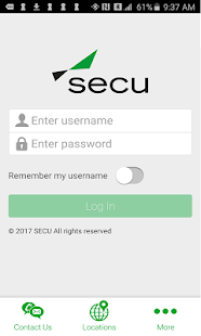SECU Mobile-Smartphone- screenshot thumbnail