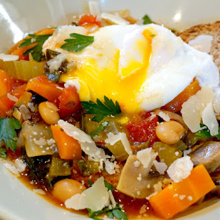 Tuscan Vegetable Soup - Acquacotta