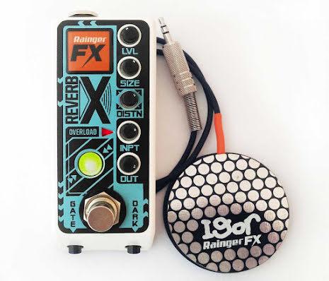 Rainger FX Reverb-X digital reverb & Igor