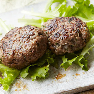 Healthy Home-Made Burgers