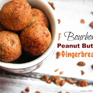 Bourbon Peanut Butter Gingerbread Bites (Grain Free)
