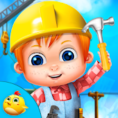 Construction Tycoon For Kids