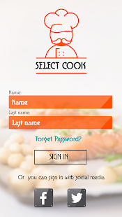 Select Cook: Chef Finder & Net- screenshot thumbnail