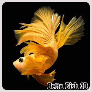 Betta Ryby 3D - náhled