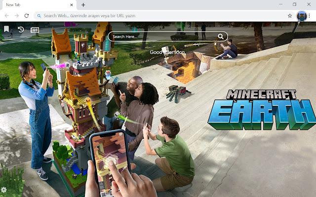 Minecraft Earth HD Wallpapers New Tab