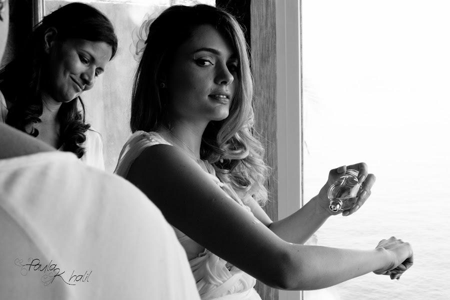 Fotógrafo de casamento Paula Khalil (paulakhalil). Foto de 04.04.2017