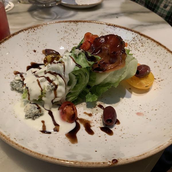 GF wedge salad