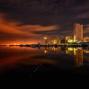 reflection by Rodel Diaz - Landscapes Sunsets & Sunrises