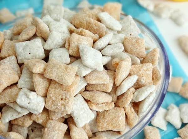 Orange Cream-sicle Puppy Chow Recipe