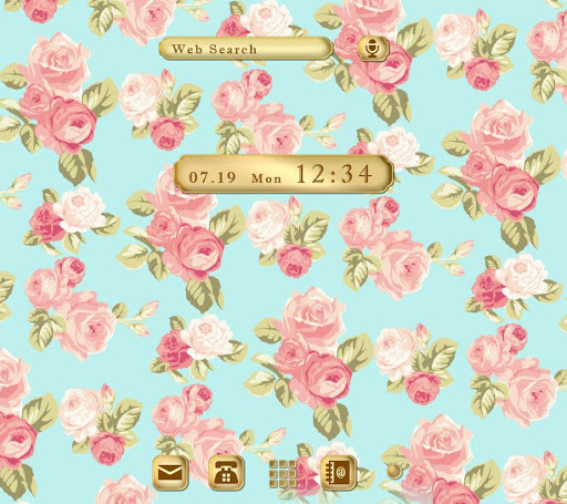Cute Theme-Elegant Floral-