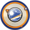 Marshall-Islands clock widget icon