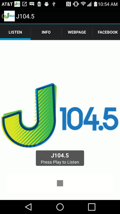 J104.5- screenshot