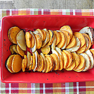 Sweet Potato & Apple Bake with Honey Glaze Option