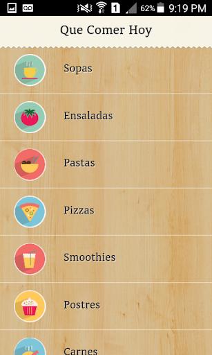 Que Comer Hoy - Recetas
