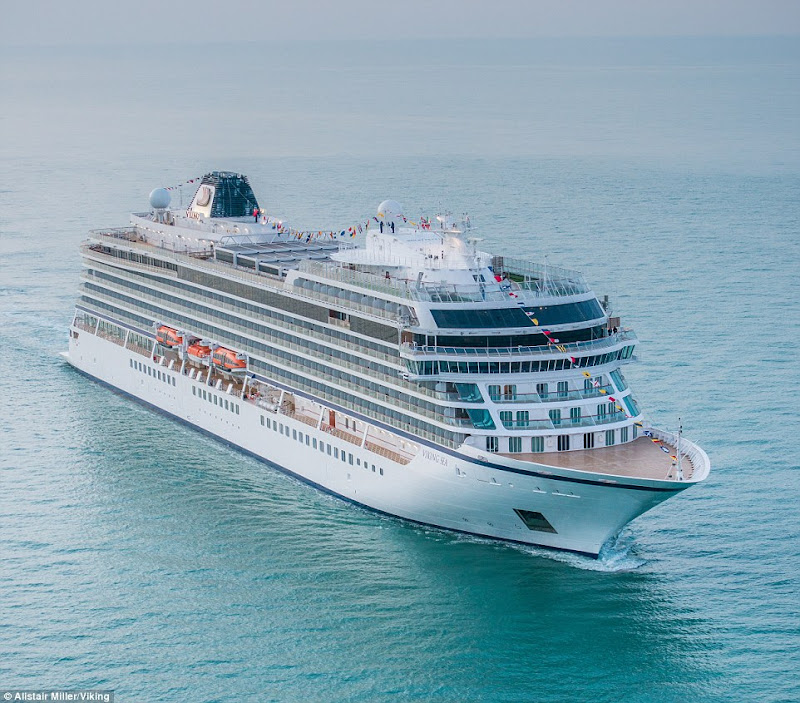 Viking Sea, the second ocean ship from Viking, carries 930 passengers in comfort and style.