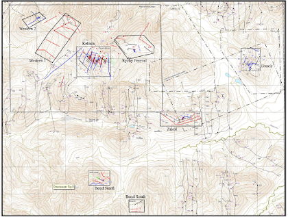 Kekura Gold Project Exploration Targets